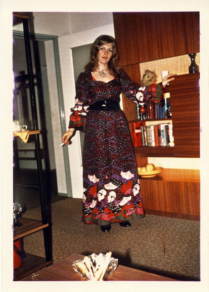 das war meine mum wo sie noch jung und attraktiv war