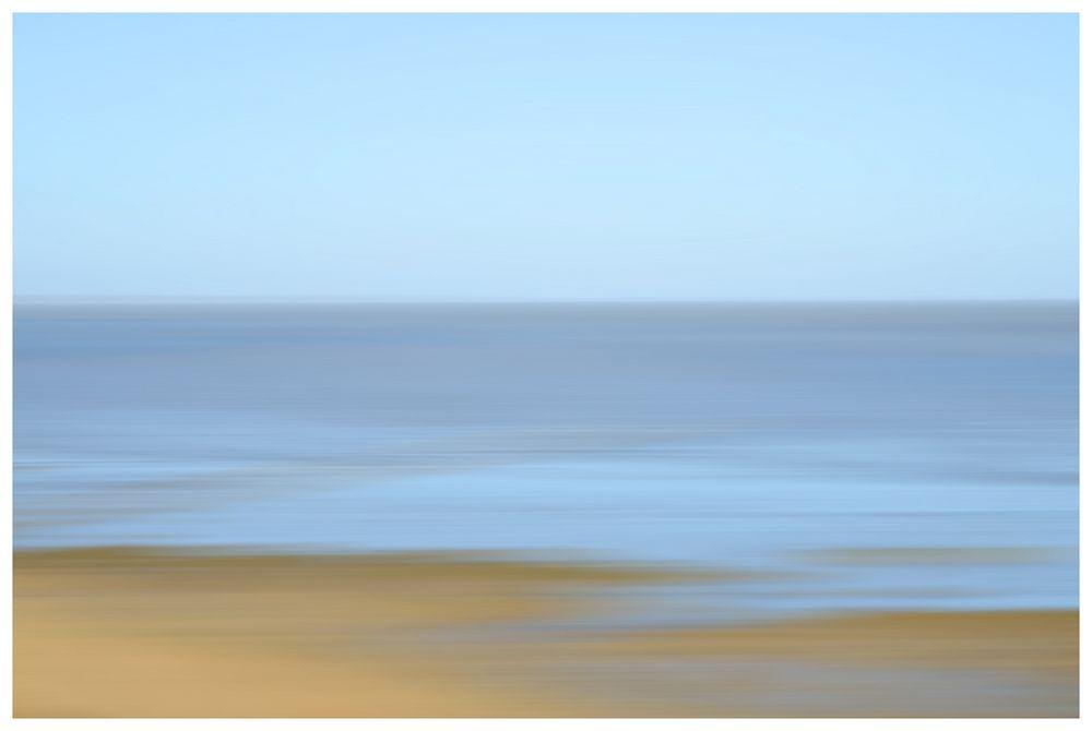Das Wattenmeer in pastell