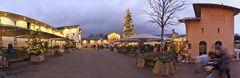 Das Weihnachtsdorf ...