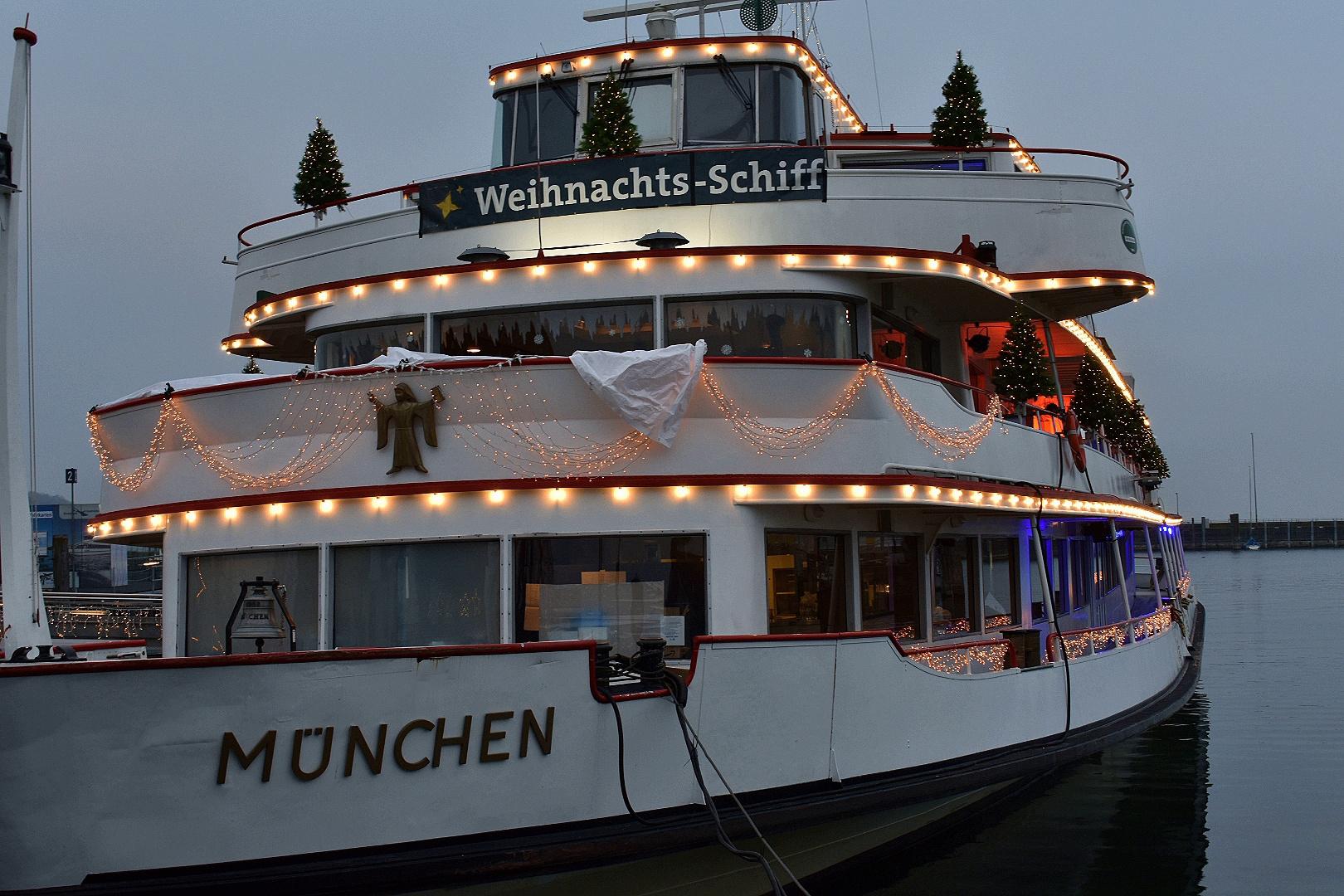 Das Weihnachtsschiff