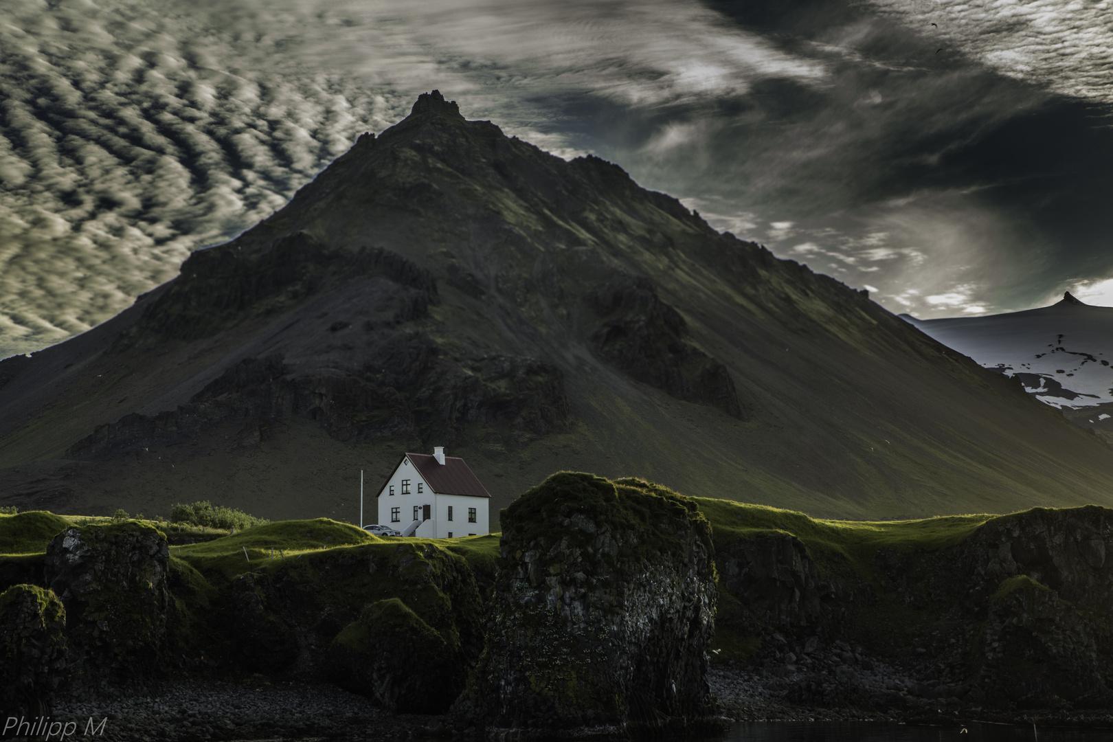 Das weiße Haus...
