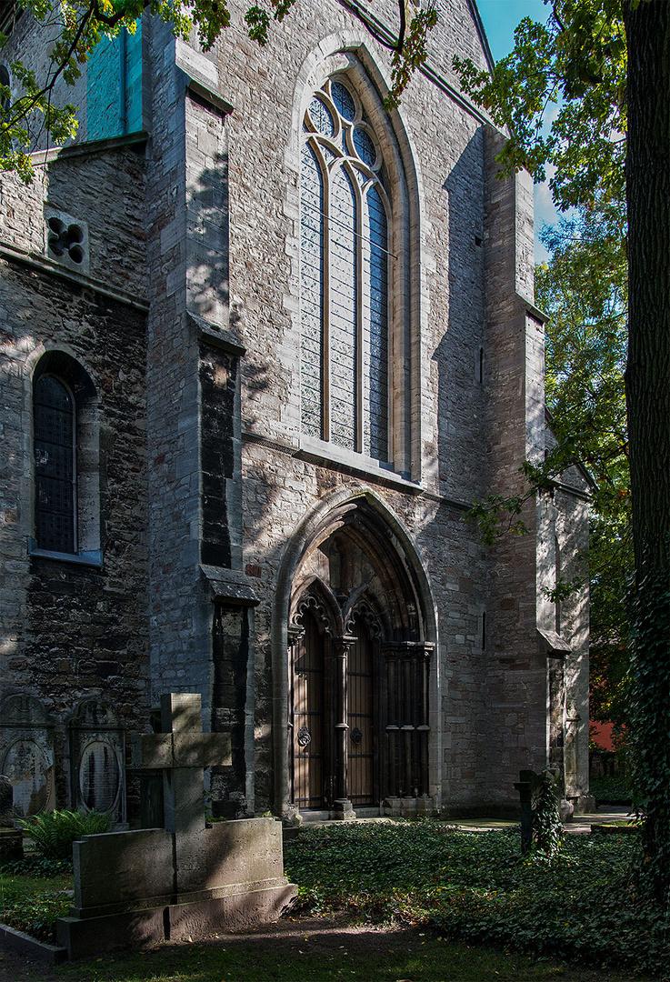 Das Westportal der Klosterkirche St. Mariae in Braunschweig-Riddagshausen