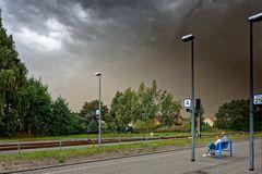 ... das Wetter kommt ...