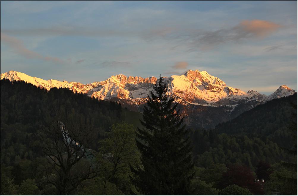 Das Wettersteingebirge ...
