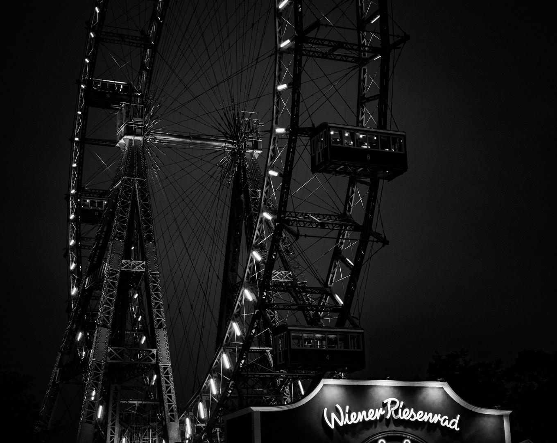 das Wiener Riesenrad in SW