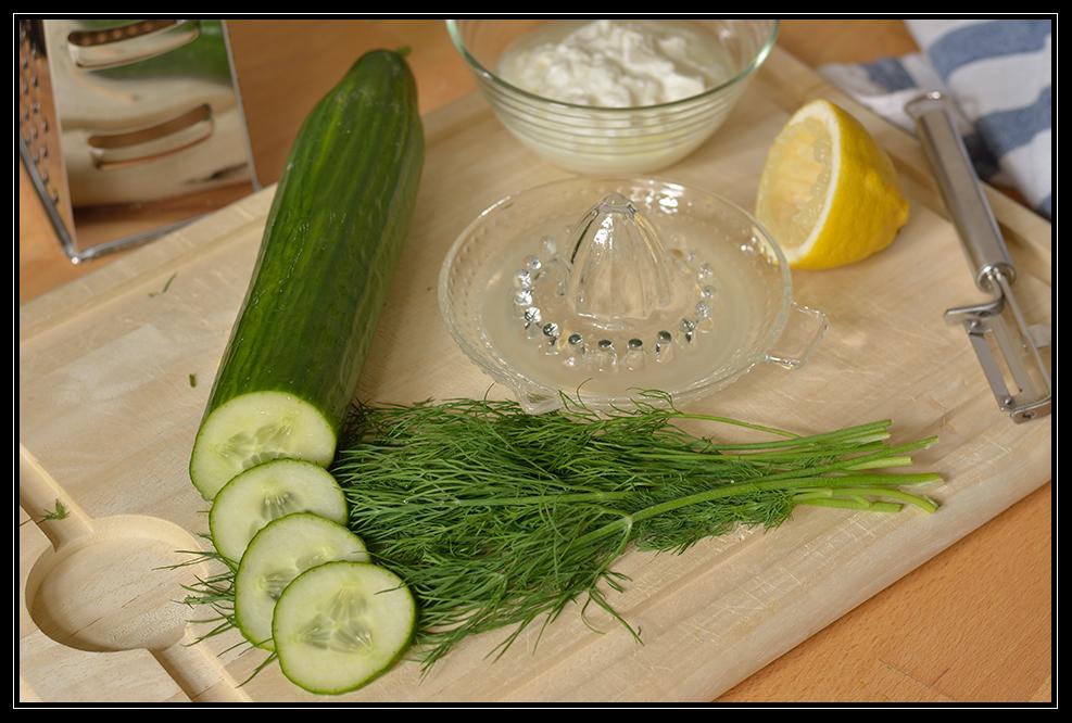 das wird ein leckerer Gurkensalat
