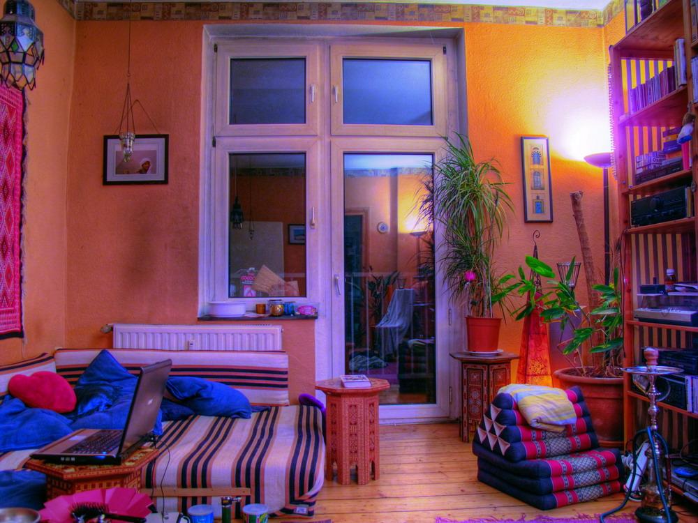 Das Wohnzimmer - ein HDR von zu Hause