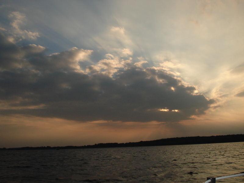 Das Wolkentier über der Müritz