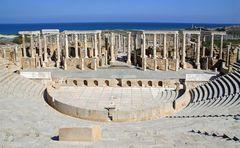 Das wunderbare Theater von Leptis Magna ...