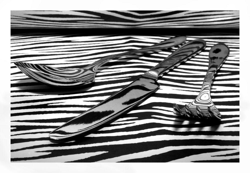das zebra will speisen