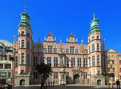 Das Zeughaus in Gdansk...