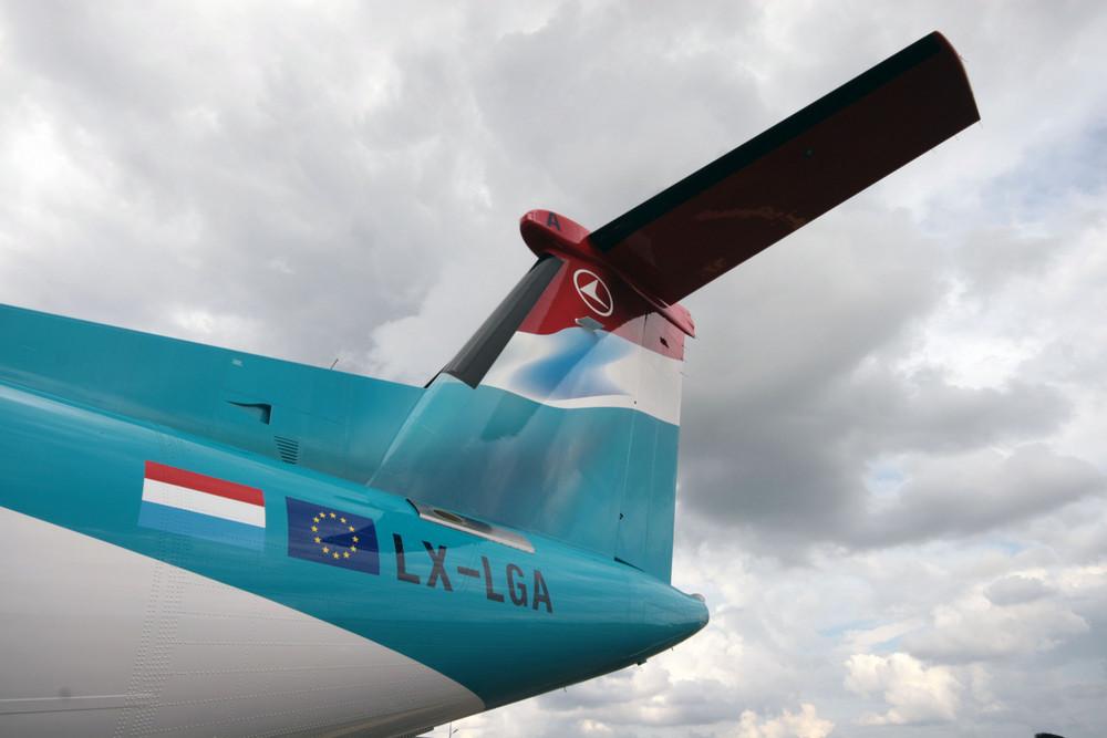 Dash 8 Q400 - Luxair 3