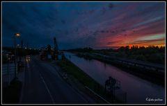 Dattel-Hamm-Kanal an der Hafenstr.