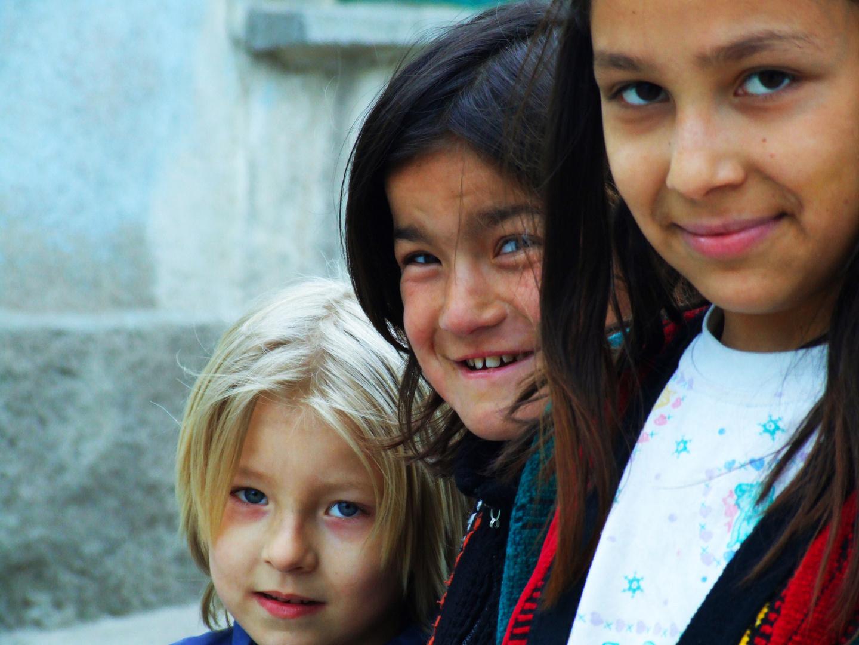 Daughters of the city of Kutahya in Turkey