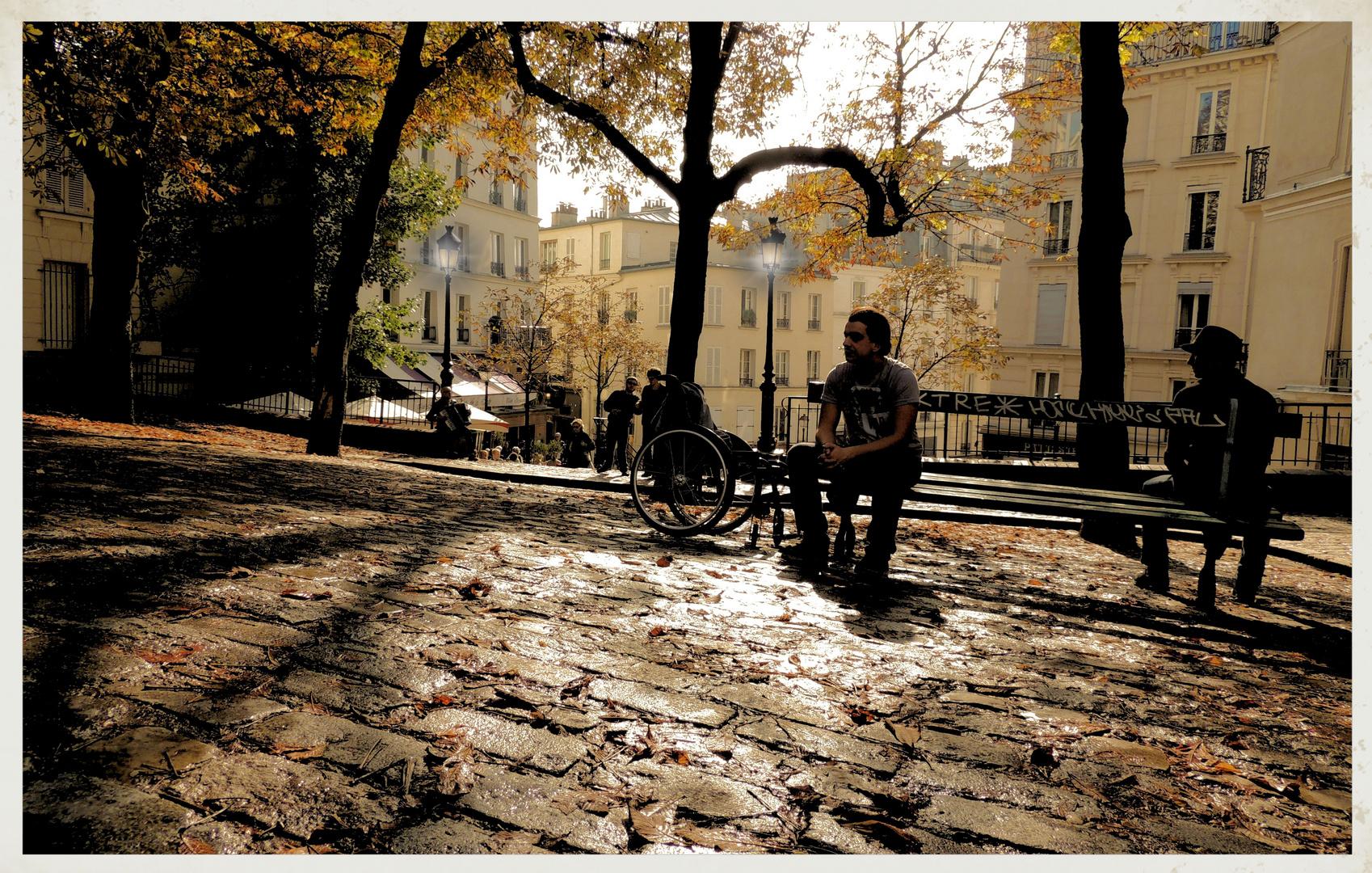 D'Automne à Paris - Montmartre