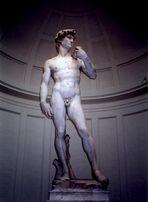 David by Michelangelo, Accademia di Belle Arti, Florence