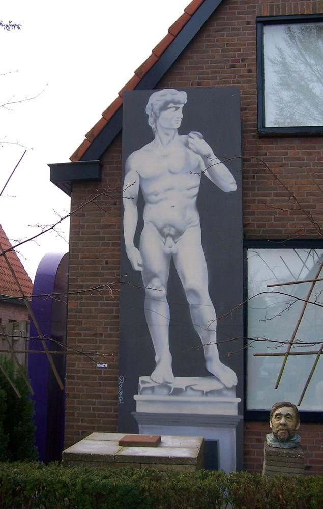 """ David in Holland """