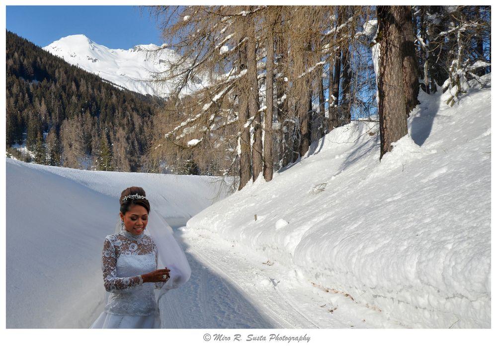 Davos in white