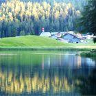 Davos Laret am schönen Schwarzsee