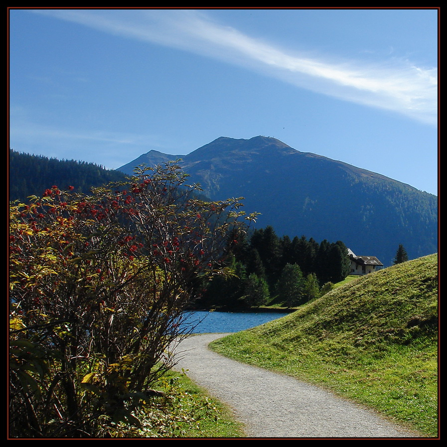 Davosersee im Frühherbst...