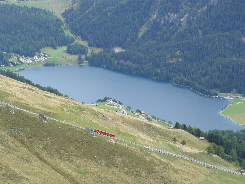 Davosersee und Parsennbahn (1. Sektion)