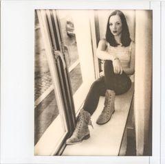 Dawina am Fenster