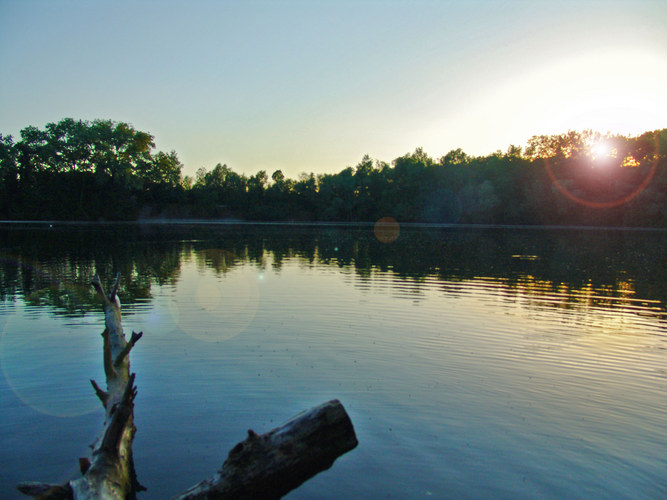 dawn at the lake, Ath belgium