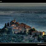 Dawn in Castelvecchio di Compito