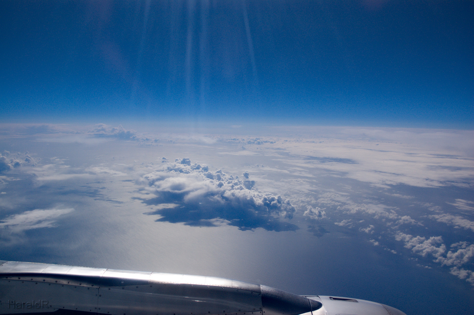 Day 0 - April 2: In the Air - Bay of Biscay