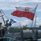 Days of Sea in Swinoujscie, marines from ORP Krakow