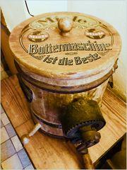 Dazumal- Buttermaschine
