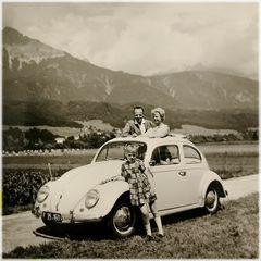 Dazumal im Tiroler Cabrio