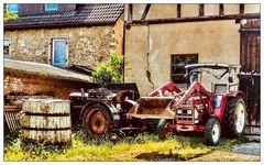 Dazumal- Traktoren aus früherer Zeit
