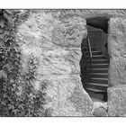 dazwischen - ... die Treppe nach oben ...