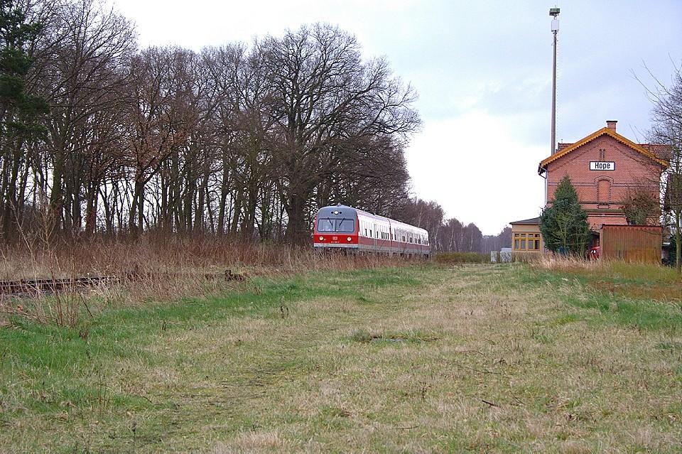 DB 614 050-3 auf der Heidebahn