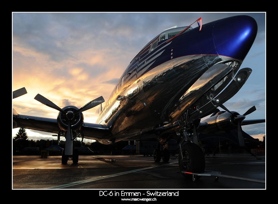 DC-6 in Emmen - Switzerland