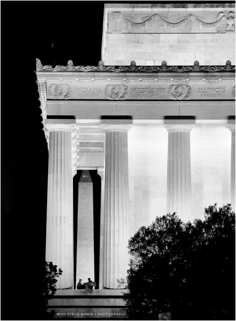 D.C. After Dark No. 12 - Lincoln Memorial, Summer Night