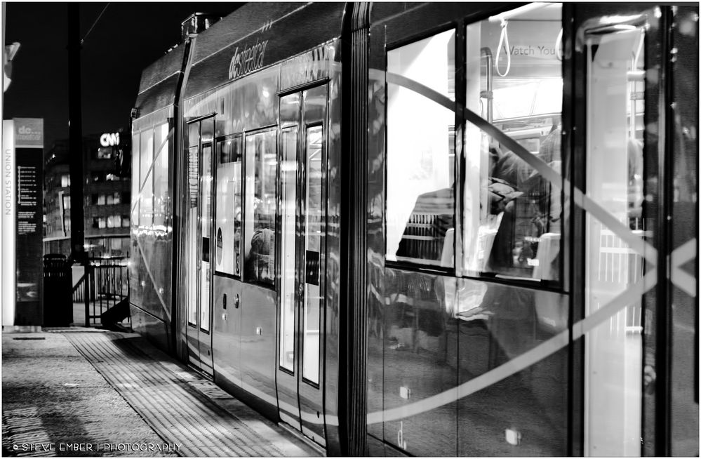 D.C After Dark No.11 - The Streetcar at Union Station