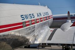 DC3 Swiss Air Lines