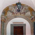 de jolies portes baroques au couvent !