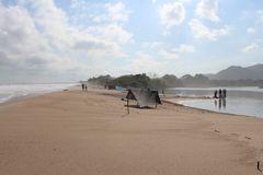 De la serie Composiciones en la playa 4