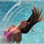 De l'eau en l'air