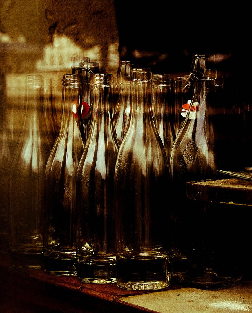 De l'or en bouteille