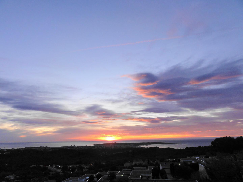 De mon balcon à l'aube.