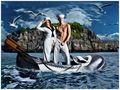 Seemanns Braut ist die See und nur ihr kann er (zuweilen) treu sein ;-) von Martin Rodan