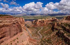 Dead Mans Curve, Colorado NM, USA