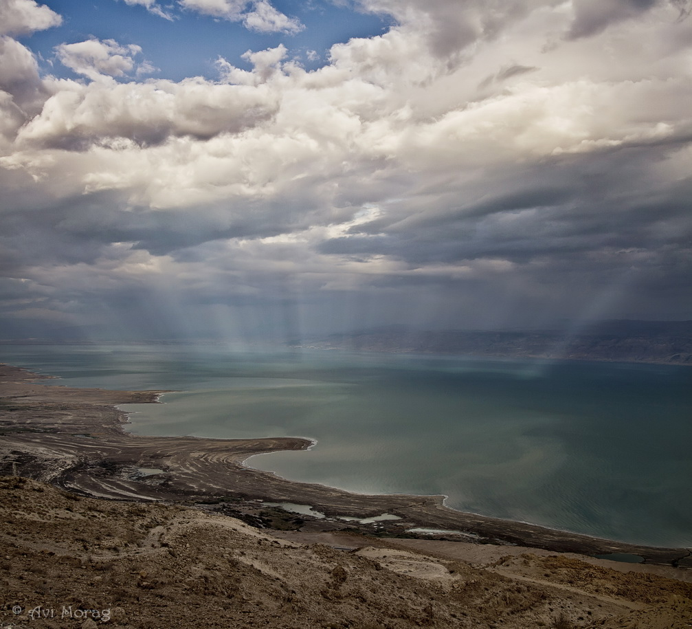 Dead Sea - Sunset