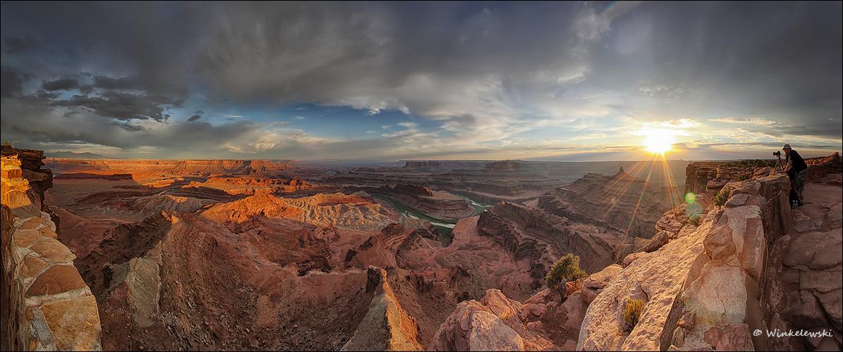 Deadhorse Point Panorama