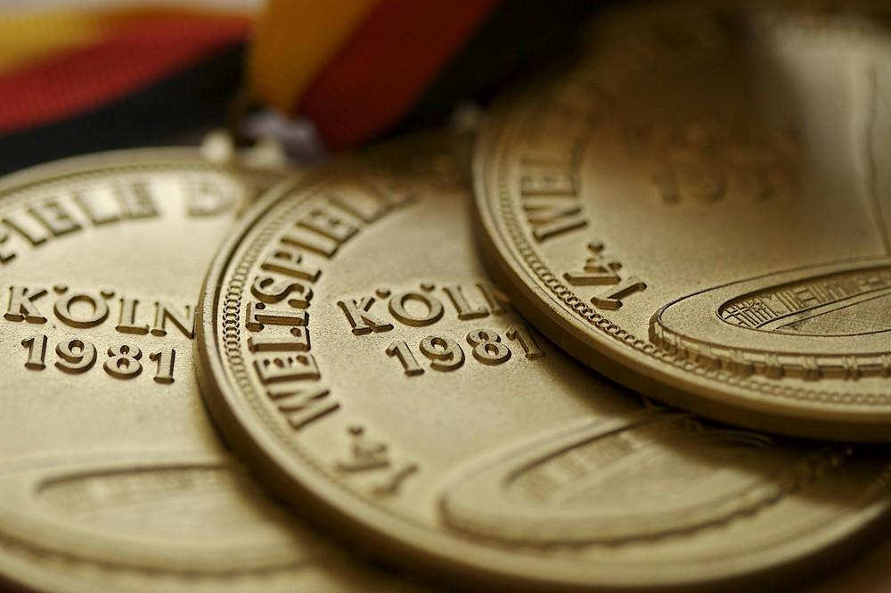 Deaf Olympics Medals 1981