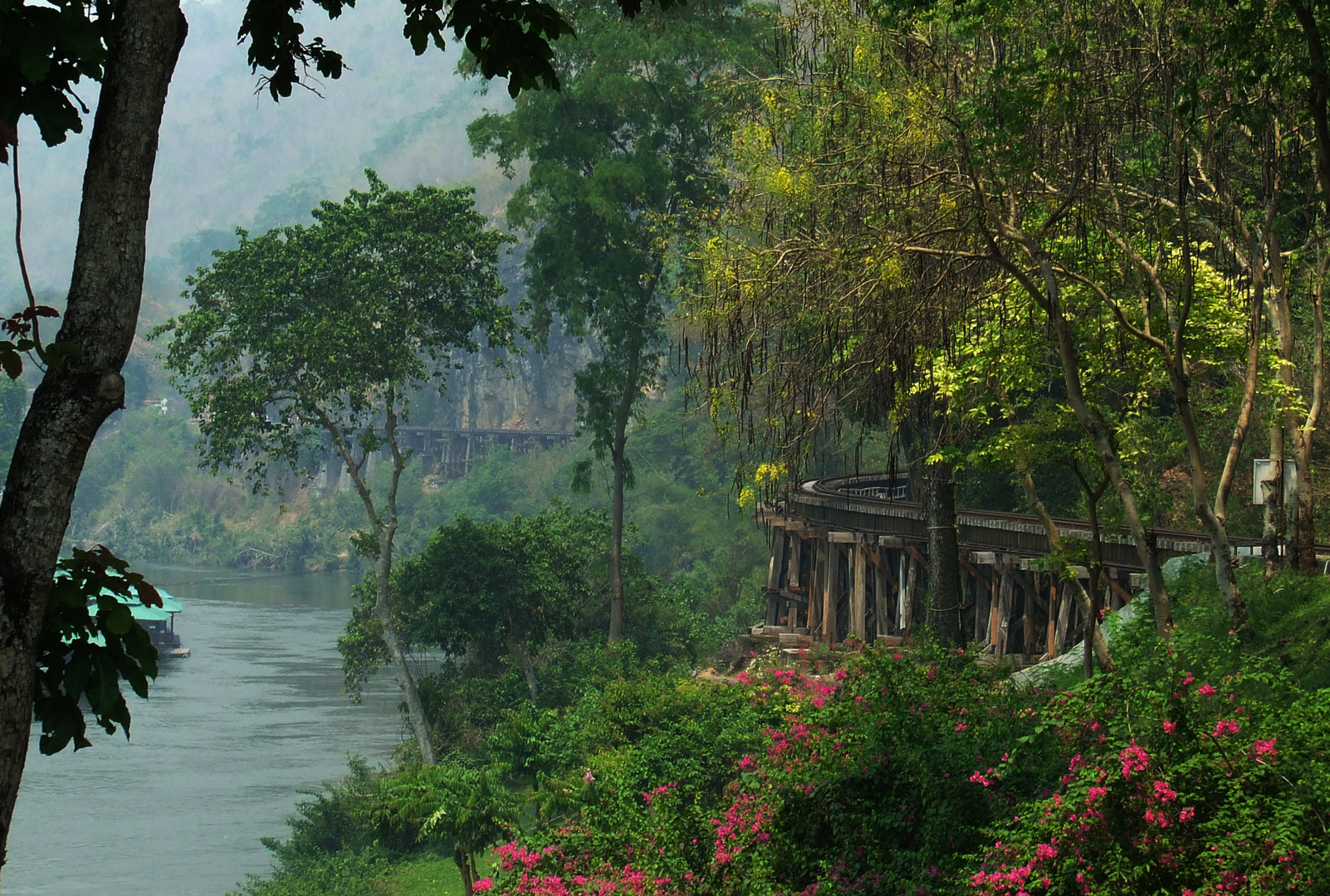 Death Railway, Tham Krasae Bridge, Kwai Noi